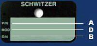 Schwitzer, Англия. Маркировка турбокомпрессора